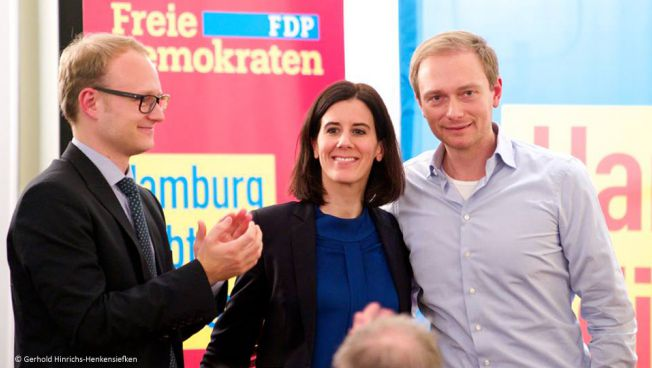 Katja Suding und Christian Lindner