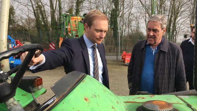 Christian Lindner bei Pfeiffer Landmaschinen in Grevenbroich