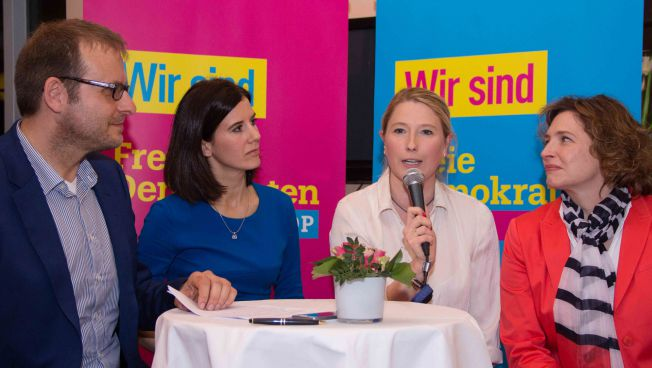 Katja Suding, Lencke Steiner und Nicola Beer