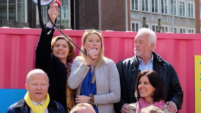 Wahlkämpfer in Bremen