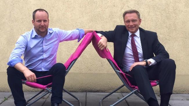 Matthias Strolz und Christian Lindner