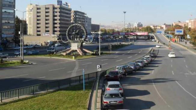 Straße in Ankara