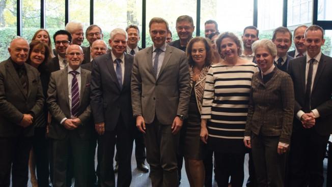 Zentralrat der Juden in Deutschland und das Präsidium der Freien Demokraten