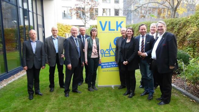 Der neu gewählte Vorstand der VLK-Bundesvereinigung