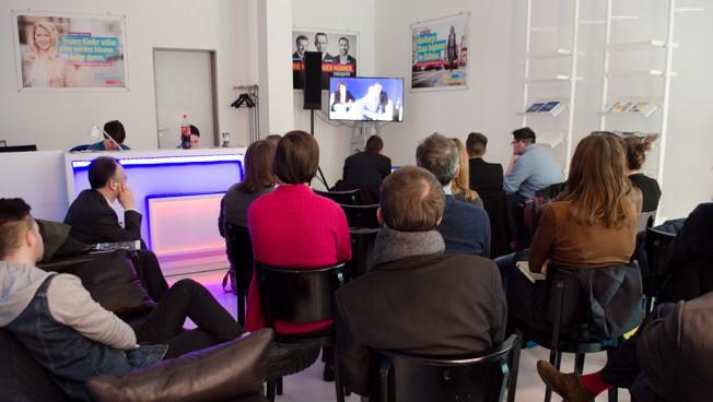 Public Viewing im FREIRAUM