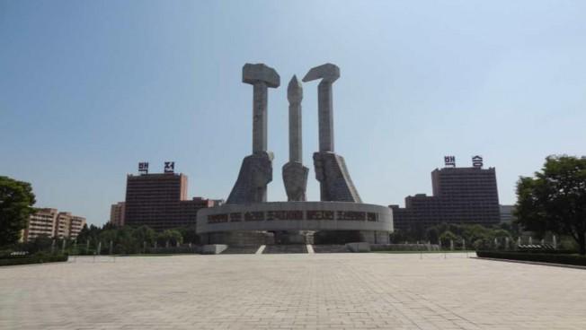 Denkmal in Pjöngjang