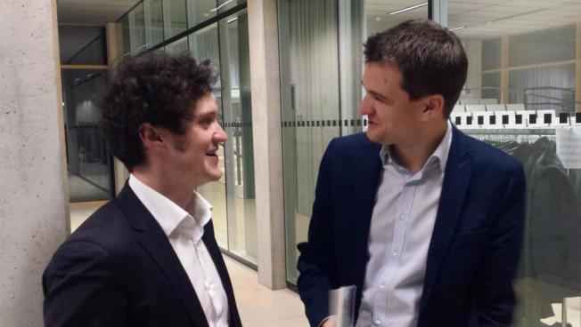 Markus Kreßler und Johannes Vogel im GesprächFriedrich-Naumann-Stiftung für die Freiheit