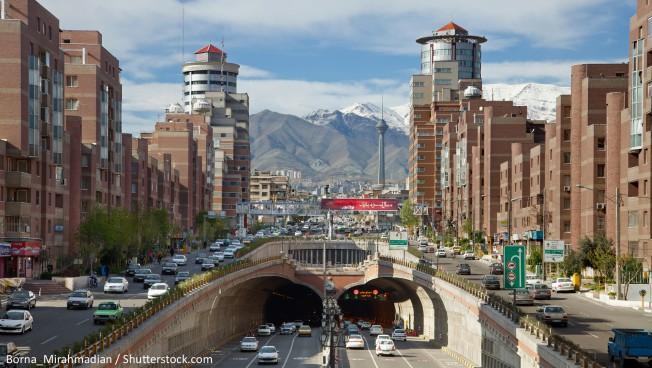 Teheran. Bild: Borna_Mirahmadian / Shutterstock.com