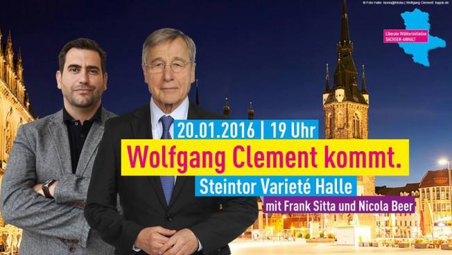 Frank Sitta und Wolfgang Clement
