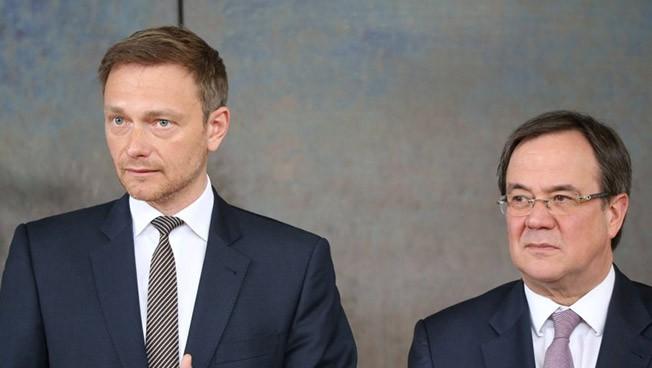 Christian Lindner und Armin Laschet