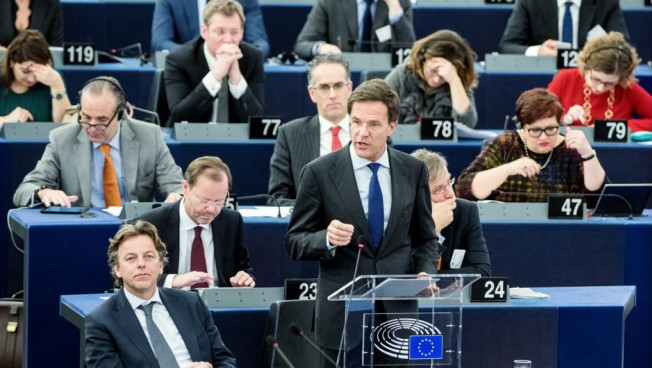 Mark Rutte. © European Union 2016 - European Parliament - CC BY-NC-ND 4.0