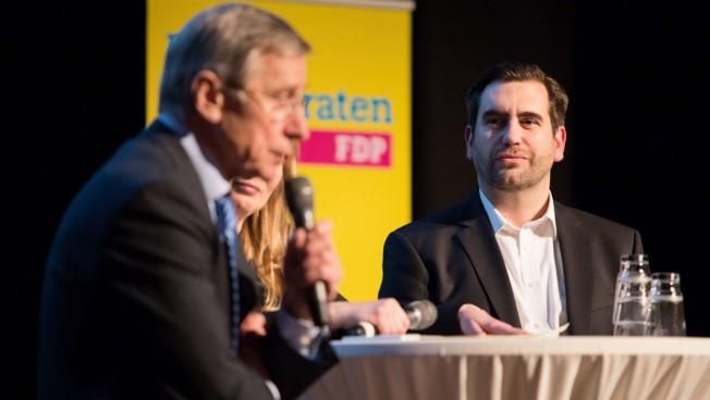 Generationengespräch mit Wolfgang Clement und Frank Sitta