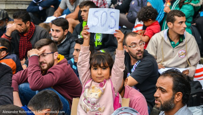 Flüchtlinge, Mädchen