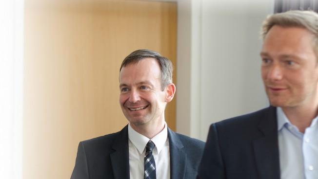 Volker Wissing und Christian Lindner