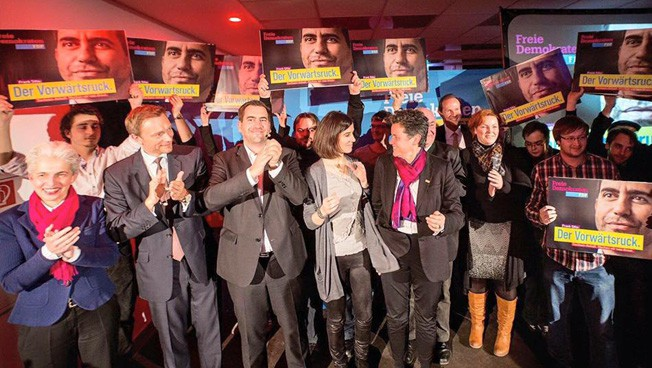 Wahlkampfauttakt in Sachsen-Anhalt