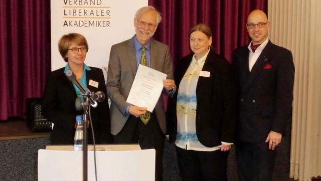 Die Preisverleihung in Goslar. Bild: Stiftung für die Freiheit