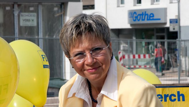 Helga Lerch, frischgebackene Parlamentarierin