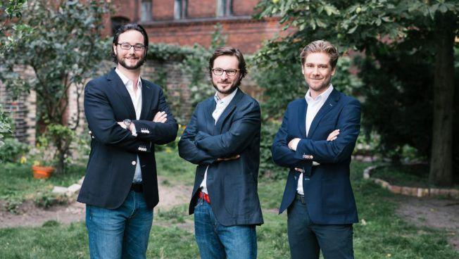 Jens Jennissen, Alexander Kihm und Ambros Gleißner. Bild: fairr.de
