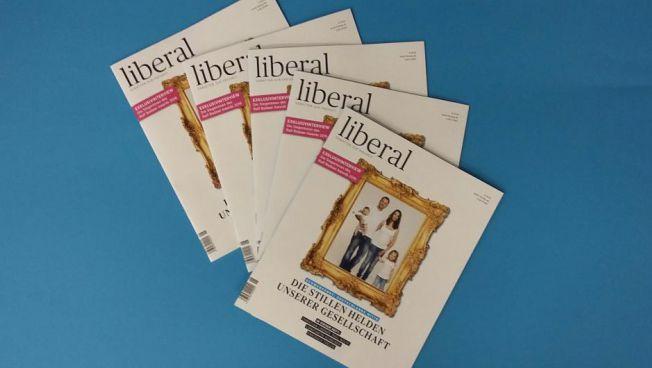 Die aktuelle Ausgabe des Debattenmagazins liberal