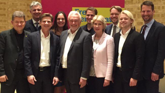 Die ersten zehn Kandidaten der Landesliste der FDP Schleswig-Holstein zur Landtagswahl 2017