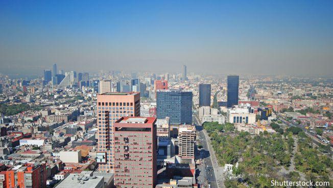 Die mexikanische Hauptstadt
