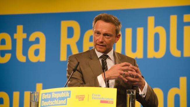 FDP-Chef Christian Lindner spricht über die Bedeutung der Betarepublik