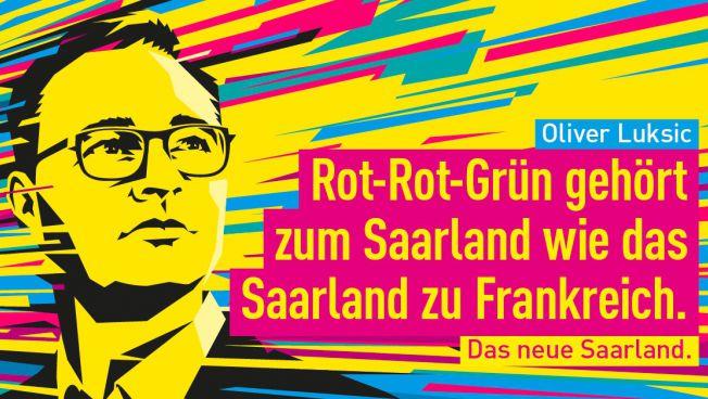 Das aktuelle Plakatmotiv der FDP Saar