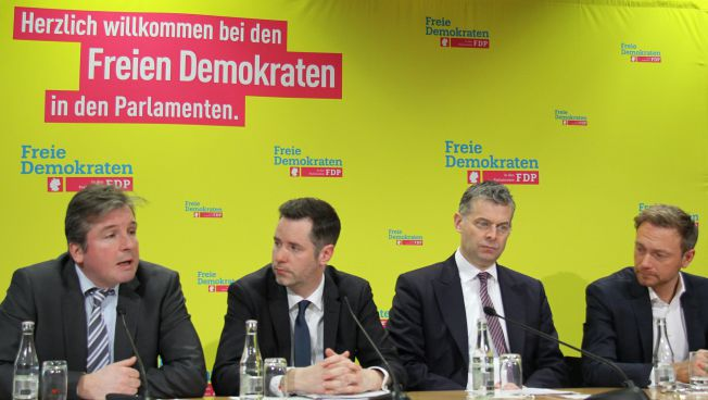 Pressekonferenz in Berlin