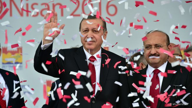Recep Tayyip Erdogan und Bekir Bozdag