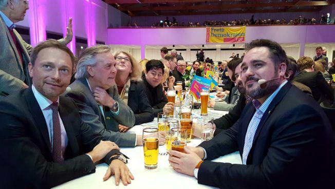 Christian Lindner beim Politischen Aschermittwoch der bayerischen Freien Demokraten. Bild: FDP Bayern