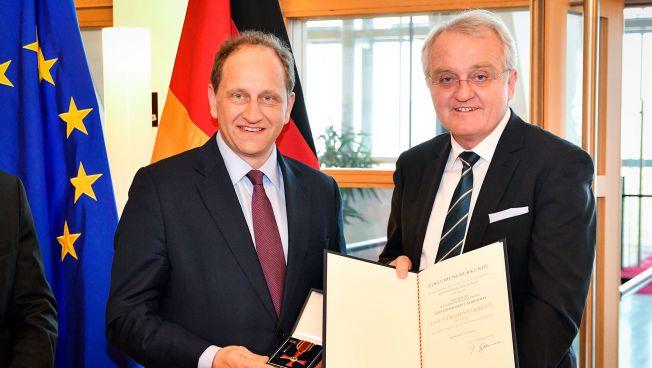 Alexander Graf Lambsdorff und EP-Vizepräsident Rainer Wieland (Foto ©European Union 2017)