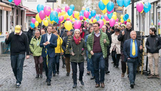 Der Aktionstag der Freien Demokraten im Sarland