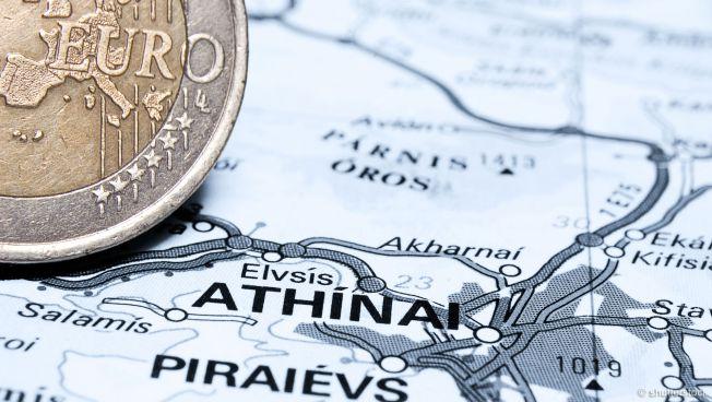 Athen und Euro