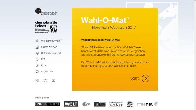 Wahl-O-Mat für NRW