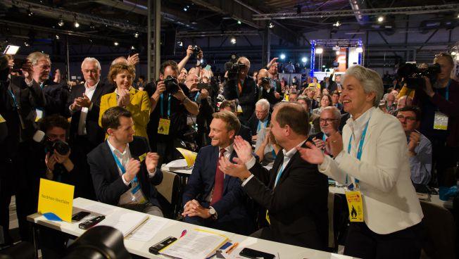 Christian Lindner wiedergewählt