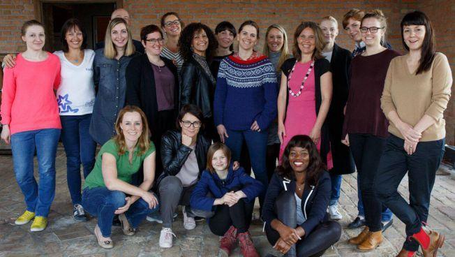 European Women's Academy: Gruppenbild