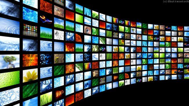 Fernseh-Bildschirme