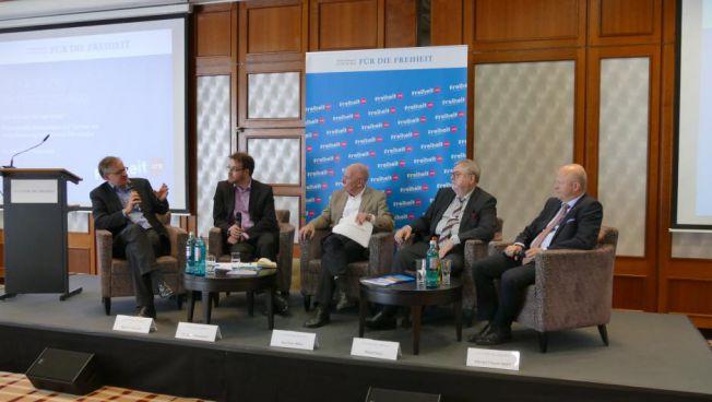 Wie dem Populismus entgegentreten? Das diskutierten Experten auf dem Karlsruher Verfassungsdialog. Quelle: Friedrich-Naumann-Stiftung für die Freiheit