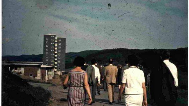 Theodor-Heuss-Akademie im Mai 1967 / Quelle: ADL, Audiovisuelles Sammlungsgut, F10-29/43