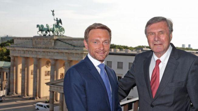 Christian Lindner hält 11. Berliner Rede zur Freiheit am Brandenburger Tor / Quelle: Friedrich-Naumann-Stiftung für die Freiheit