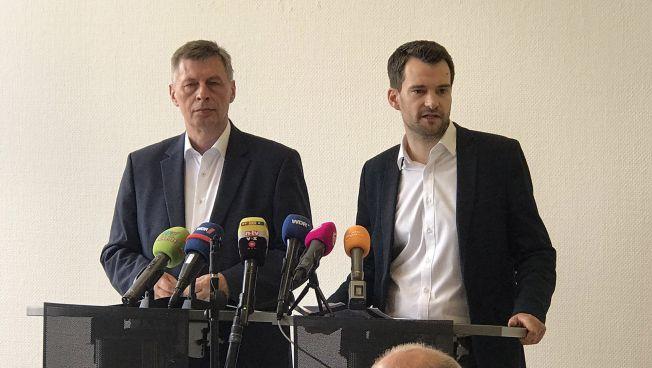 Bodo Löttgen und Johannes Vogel