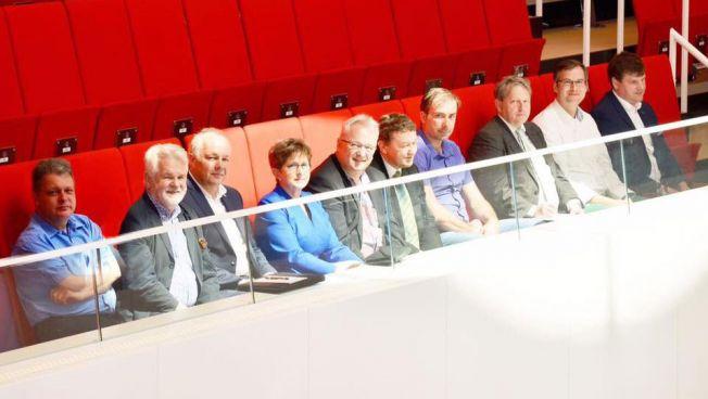 Vertreter des Vereins im Brandenburger Landtag