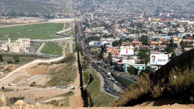 Grenze zwischen Mexiko und den USA