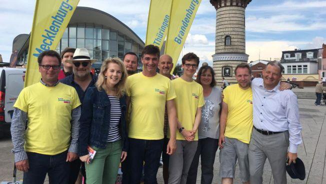 FDP-Wahlkämpfer