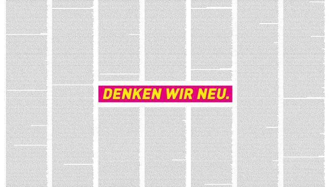 Denken wir neu, Kampagne, FDP, Bundestagswahl