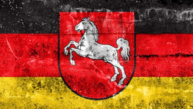 Niedersachsen-Flagge