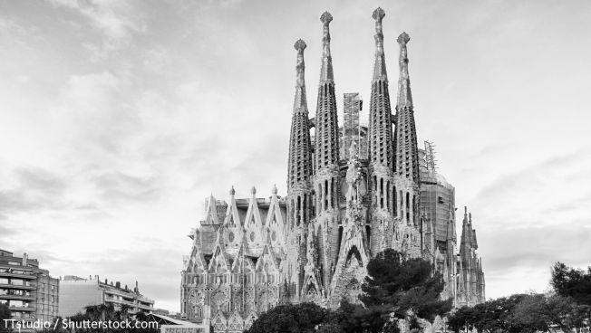 Die Sagrada Família in Barcelona. Bild: TTstudio / Shutterstock.com