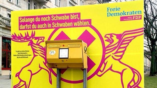 Briefwahl-Werbung