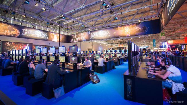 Gamescom -  größte Video- und Computerspielmesse der Welt