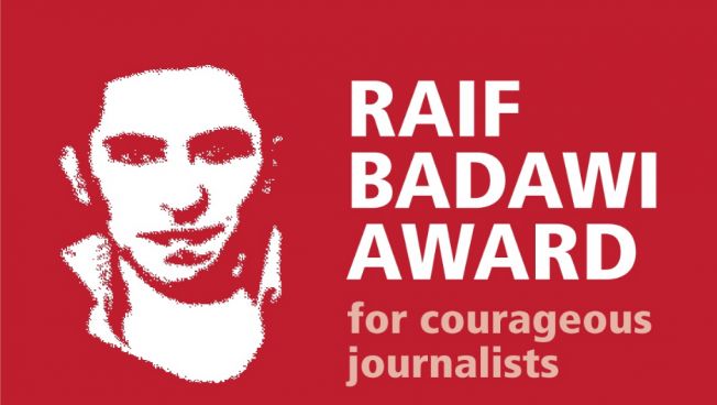Der Preis unterstützt mutige Journalisten und erinnert an die anhaltende Inhaftierung von Raif Badawi